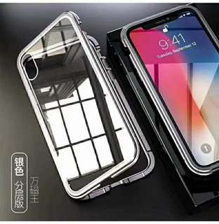 Full Transparent Foldable Armour iPhone 6/7/8/X Phone Case