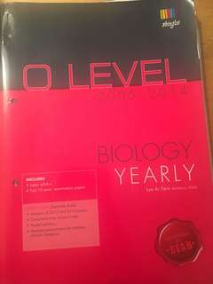 # Blessing - O Level TYS Biology Yearly edition 2005-2014