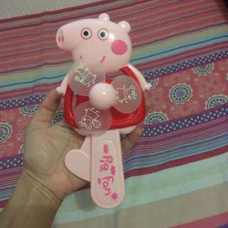 Peppa Pig Manual Toy Fan