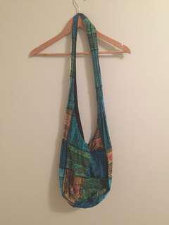 Blue Hippie Bag
