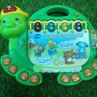 Vtech Touch and Learn Turtle