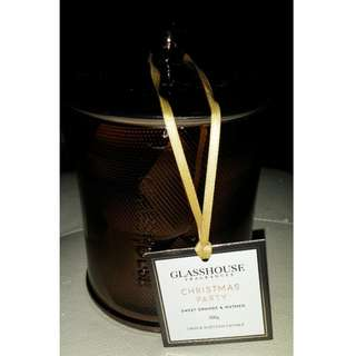 Glasshouse limited edition metallic jar Christmas Party 350g