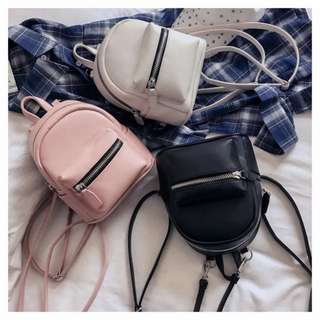 LOOKING FOR LEATHER MINI BACKPACK