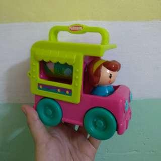 Ice Cream Delivery Car
