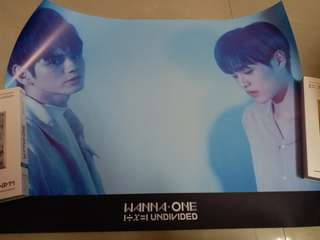 Wanna One Undivided Album - The Heal Poster