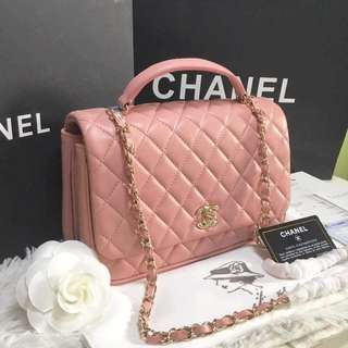 Chanel Flap Top Handle Bag