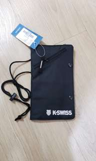 K.SWISS passport bag