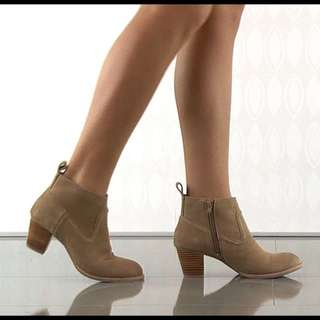 """DV by Dolce Vita """" Jamison"""" Suede Booties"""