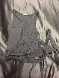 Wrap top from glassons
