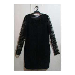 Folded & Hung black dress