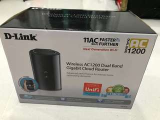 Dlink Router AC1200 - dual band