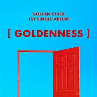 [PREORDER] Golden Child - Goldenness (1st Single Album)