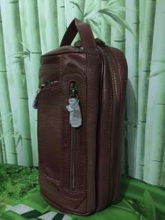 Hand bag kulit Omnia