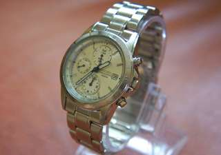 SALE! Authentic Japan Seiko 7T92 Chronometer Watch