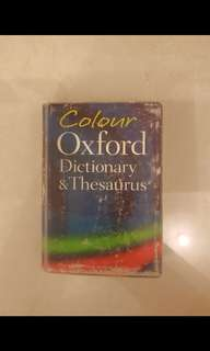 Old Oxford Dictionary and Thesaurus