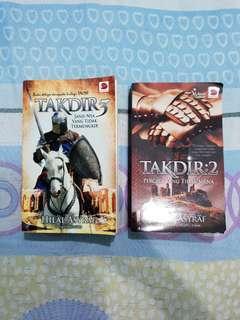 Novel Takdir 2 & 3