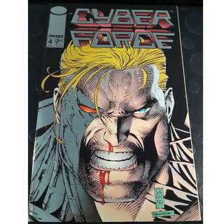 Cyberforce (Vol 1) #4 (1st app: Stryke Force)