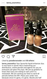 Lanna Cosmetics Glow Getter Liquid Enhancer