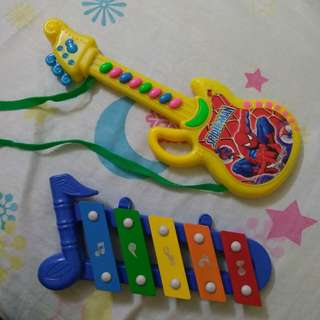 Guitar and Xylophone