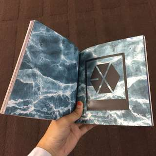Self made cbx/ exo photobook