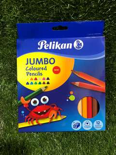 Pelikan Jumbo Coloured Pencil 12