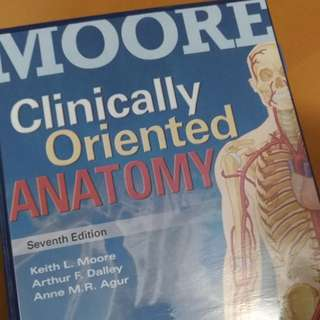 Moore Clinically Oriented Anatomy 7th Ed.