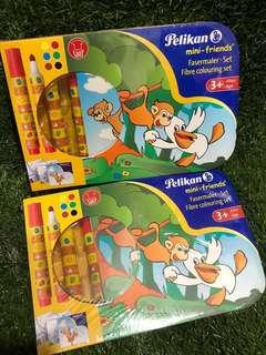Pelikan Mini Friends Fibre Colouring Set