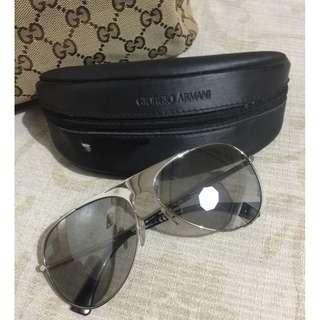 Preloved Authentic Giorgio Armani Aviator Sunglasses (Like New!)