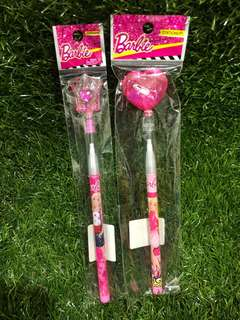Barbie pencils crown and Love shape