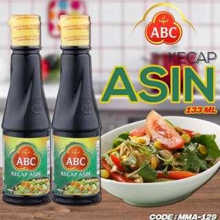 ABC KECAP ASIN BOTOL 133ML (MMA-129)