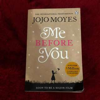 Me Before You Jojo Moyes Preloved Book Novel Buku