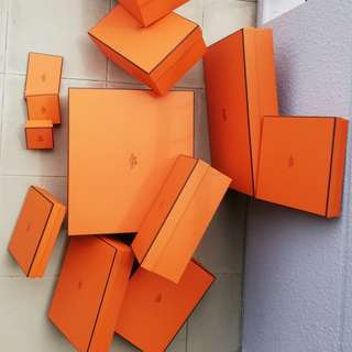 Hermes Boxes -various sizes