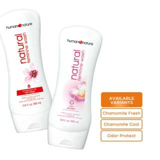 GET P20 OFF when you buy 165ml Feminine Wash with 165ml Feminine Wash Protection for Red Days