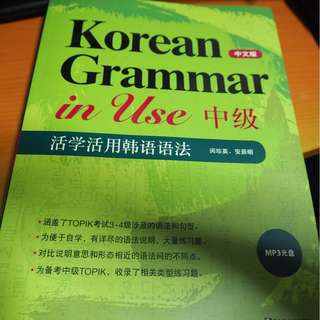 Korean Grammer In Use Textbook Chinese v.