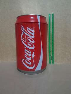"Coca Cola 10.5"" Tin Can"