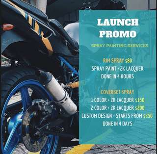 ⚠️LAUNCH PROMO⚠️ spraying services!