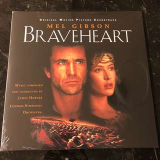Braveheart Soundtrack. Vinyl Lp new