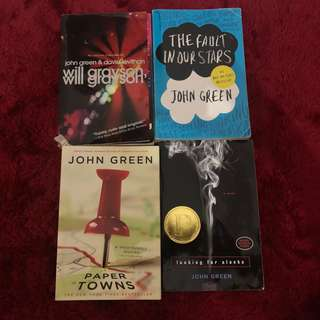 John Green - Preloved Buku Novel Book