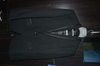 Onésimus Men's Suit (Black)