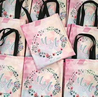 Graphic Tote Bags as Give Aways