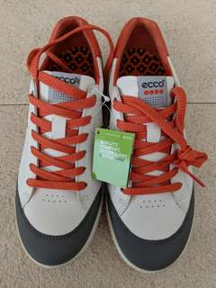Brand New ECCO Golf Leather Shoes Size EU 39 US 7