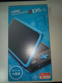 Nintendo 2DS New (JAPANESE) (Blue and black)