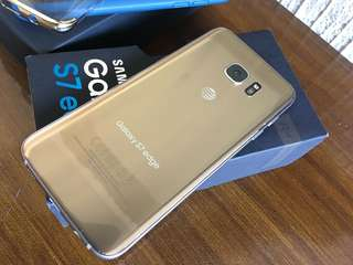 For sale s7 edge gold