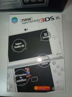 Nintendo 3DS XL NEW (white)