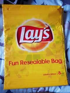 🚚 Lays resealable bag