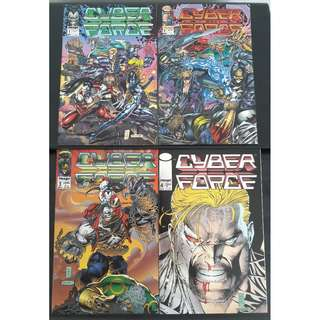 Cyberforce (Vol 1) #1-#4 (Complete)
