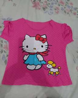 Atasan anak hello kitty
