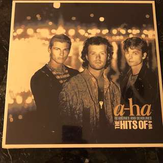 A-ha headlines and deadlines. hits of A-ha. Vinyl Lp new