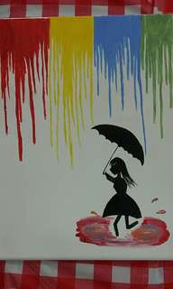 Canvas Painting-Happiness