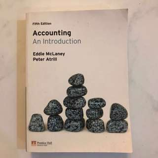 Accounting <An Introduction>